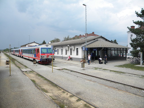 Marchegg train station