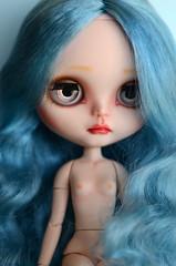 Blue mode! Custom Blythe