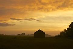 Farmland Sundown (karstenphoto) Tags: sunset beauty barn sundown michigan farm pure puremichigan