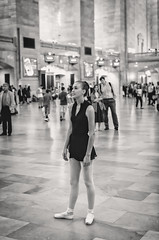 Ballet Dancing at Grand Central IV (Uwe Seiler) Tags: new york usa nikon 18200 d70nikon vrii yorknikon usanikon d7000 vriinikon 20120725 d70nikond7000 usa20120725 usad7000 usausanew