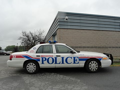 2009 Ford Interceptor (Emergency Vehicle Photography) Tags: ontario canada ford police brockville 2009 interceptor