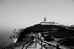 Cabo da Roca (Maks Karochkin) Tags: ocean people lighthouse rock cabo break da cape atlanticocean roca seamark flickraward