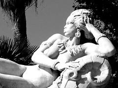 Afrique (rgrant_97) Tags: bw sculpture france marseille midi porvence colonialism