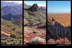 Arkaroola Layers (Georgie Sharp) Tags: landscape colours australia outback layers arkaroola tectures