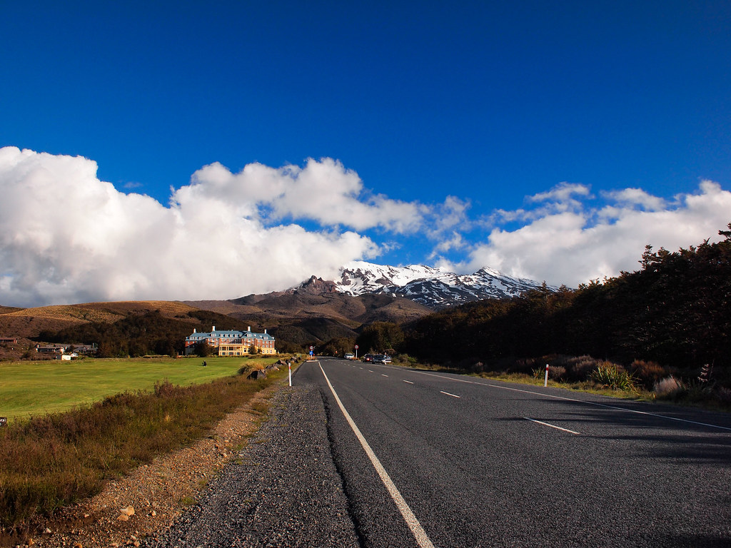 On the way to Tongariro