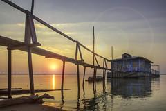 coucher de soleil sur la mer de l'Ob (AKfoto.fr) Tags: sunset mer ob hdr coucherdesoleil photomatix novossibirsk