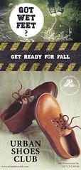 Флаер (Вяхотка) Tags: реклама обувь флаер полиграфия