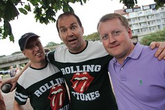 The Rolling Stones: Thomas Malm, Christian Carlsson & Mattias Rundberg.