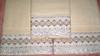 Jogo de toalhas (Roberta Kelly Damasceno) Tags: artesanato toalha banho rosto bordado vagonite bordadoinglês begeemarrom