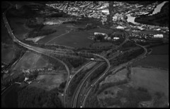 Name the junction! (Martyn Edward Photographer) Tags: road white black scotland highway scenery motorway no maps junction duel clue carrigeway