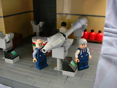 Nazi Scientist Lab 4: Pentagon (Cool Whip) Tags: usa america lab lego zombie 4 nazi wwii captured ww2 missile zombies operation pentagon scientist paperclip allies richtofen brickarms