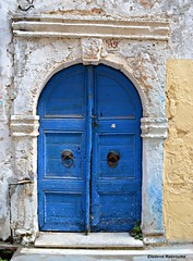 (Eleanna Kounoupa (Melissa)) Tags: doors greece crete tradition oldtown rethymnon   explored