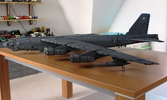 B-52H Stratofortress (11) (Mad physicist) Tags: lego military buff bomber usaf b52 stratofortress b52h