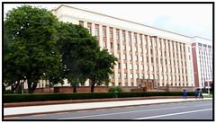 Presidential Palace of Minsk (theredquest.com) Tags: travel tourist communist communism belarus minsk sovietunion theredquest