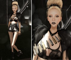 LOTD86 (Sery Darkrose) Tags: girls italy house art girl beauty look fashion photo blog day mesh mother style blogger it goose coco fox bullets mode couture moles the lethal essences of hluzza