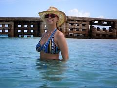 Doctor's Cave Beach, Montego Bay, Jamaica (Perfectance) Tags: blue beach water bay jamaica cave doctors montego