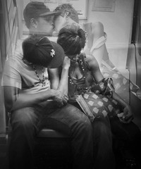 """We Used to Dream of Forever Love"" (Sion Fullana) Tags: nyc urban newyork love subway kiss couple pareja doubleexposure amor multipleexposure relationships beso allrightsreserved enamorados foreverlove urbannewyork mobilephotography iphoneography sionfullana editedanduploadedoniphone iphoneogra throughthelensofaniphone iphone4s creativemobilephotography"