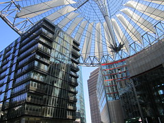Berlino, il Sony Center (Valerio_D) Tags: berlin germany deutschland sonycenter 1001nights germania berlino bestcapturesaoi 1001nightsmagiccity ruby5 ruby15 2012estate