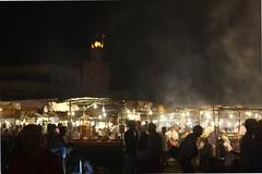 Marrakech - Djemaa el-Fna (sarihssuh) Tags: summer evening morocco marrakech elfna djemaa