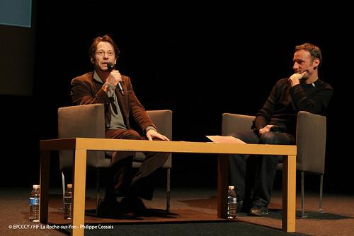 Mathieu Amalric et François Bégaudeau