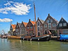 Monnickendam, Netherlands (sigi-sunshine) Tags: holland water netherlands beautiful boot harbor boat wasser ship hafen schiff marken niederlande idylle schn monnickendamm volendamm