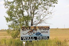 Wall Drug Billboard (the_mel) Tags: dog wall southdakota highway hound billboard advertisement drug 90 i90 walldrug