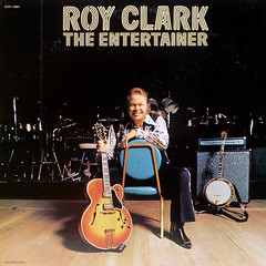 The Entertainer (epiclectic) Tags: music art vintage 1974 guitar album vinyl banjo retro collection jacket cover lp instrument record gibson sleeve royclark epiclectic