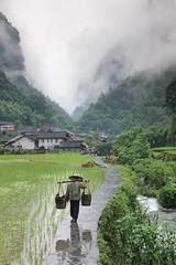 Timeless China (craigkass) Tags: china mountains asia karst hunan nationalgeographic rurallife dehang unseenasia