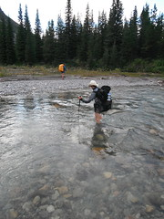 Steppe Creek crossing
