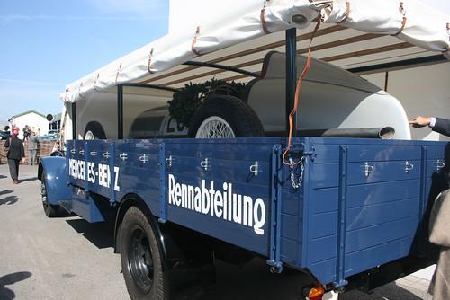 Mercedes Grand Prix Transporter