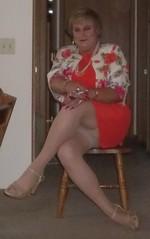 100_0326 (didi_lynn) Tags: sexy drag highheels sandals cigarette smoke jewelry pearls crossdressing hose smoking tgirl blond blonde upskirt hosiery dragqueen pantyhose crossdresser crossdress gurl platforms tg sexylegs longlegs nylons classy rednails bigtits pearlnecklace girdle longnails cfm vs120