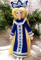 Snow Maiden (4) (McFiberNutt) Tags: thread miniature crochet folklore amigurumi