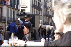 bailaora (GLOBI  FUZZI) Tags: barcelona espaa spain tnzer dancer catalonia larambla catalunya espagne flamenco catalua spanien spagna strassenknstler rambla  katalonien bailaora canoneos50d  globifuzzi feb2012