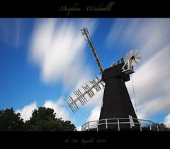 Meopham Windmill in sunny old England. (Pete 5D......) Tags: wood uk blue england sky motion windmill wooden kent movement long exposure imac le manfrotto meopham ef2470f28lusm canon5dmarkii mygearandme mygearandmepremium mygearandmebronze