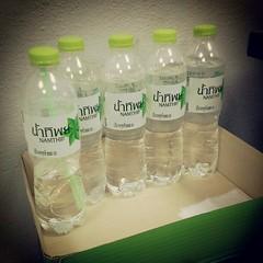 ไม่ได้ตุนนะ แค่ซื้ออย่างน้อยวันละ 1 ขวด  ปล. ขอค่าโฆษณาเป็นน้ำดื่มฟรี 1 ปีด้วยนะครับ บจก. ไทยน้ำทิพย์