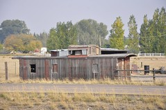 Blackfoot, Idaho (Bob McGilvray Jr.) Tags: railroad train wooden tracks caboose blackfootidaho