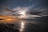 K20D8368 (Bob West) Tags: longexposure nightphotography ontario beach night clouds lakeerie greatlakes moonlight nightshots startrails southwestontario bobwest k20d pentax1650f28