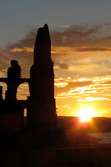 Perspectives 5 (Mike-Lee) Tags: light sunset sky church abbey perspectives whitby whitbyabbey top20sunsetsofourhearts aug2012