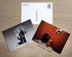 Cartes postales (Philmon Shivar) Tags: cartepostale art srie photographe chambreorange hommemoderne postcard
