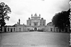 Curraghmore, Portlaw, Co. Waterford (National Library of Ireland on The Commons) Tags: robertfrench williamlawrence lawrencecollection lawrencephotographicstudio thelawrencephotographcollection glassnegative nationallibraryofireland curraghmore curraghmorehouse portlaw countywaterford