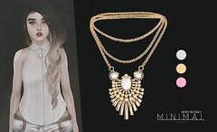 MINIMAL - Aime Necklace (MINIMAL Store) Tags: shiny minimal shabby