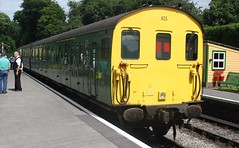 20160717 - 9126 - Mid Hants Railway - DEMU 1125 - 1415 Alresford to Alton - Medstead - Railway Station (Paul Weston (Mr Mildenhall)) Tags: midhantsrailway demu 1125 1415alresfordtoalton medstead railwaystation