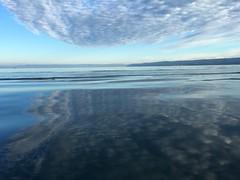 Cloudy Seascape Katchemak Bay Kenai Peninsula Alaska USA (eriagn) Tags: cloud reflections calm cloudy seascape katchemakbay kenaipeninsula alaska usa ripple white blue grey mottled abstract atmosphere atmospheric otherworldly eriagn ngairehart photography tones hues blues