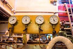 231 - Under Pressure (md93) Tags: 366 sirwalterscott steamship historic loch katrine cruises scotland trossachs pressure guages steam engine room
