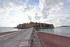 Montenegro 09 (mpetr1960) Tags: svetistefan clouds sea seascape seaview sky perspective resort hotel montenegro europe nikon d810