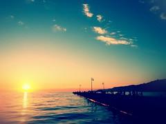 Molo Audace (rolandeschain_) Tags: trieste friuliveneziagiulia friuli italia italy summer sunset sea molo moloaudace
