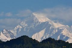 Mt Kanchendzonga (Kanchenjunga) (draskd) Tags: mtkanchenjunga mtkanchendzonga kanchenjunga gangtok sikkim 7282016explore 42nd