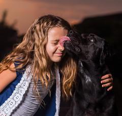 IMG_6707 (Zach V) Tags: canon70d brooke roma family portrait dog canon100mmf2 ef100mmf2 100mm sunset strobist