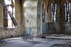 q5 (urbex66400) Tags: abandoned church kosciol urbex verlassen opuszczone opuszczony sony a550 indoor urban exploration