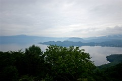TOWADA-Lake (tez-guitar) Tags: lake water mountain sky pentax pentaxart wide sigma tohoku